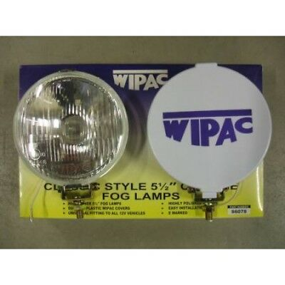"DEL 6/"" 12 V Voiture Van 12 V Angel Eye Chrome Spot"