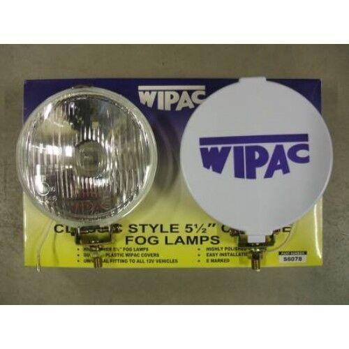 Classic Mini Spot Lights FOG Lamps Covers FREE DEL Wipac S6078 New Pair