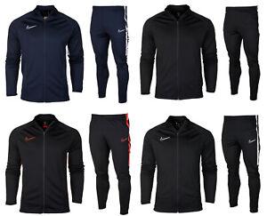 926b66759307b Das Bild wird geladen Nike-dry-academy-heren-trainingsanzug-sportanzug- jogginganzug-football