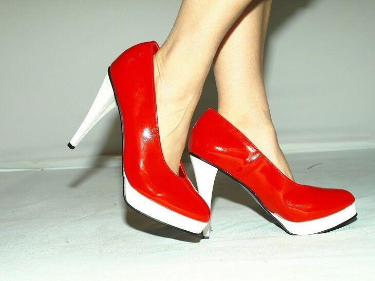 High heels, pumps producer Poland -heels 13cm-grobe 37-47 -FASHION STYLE