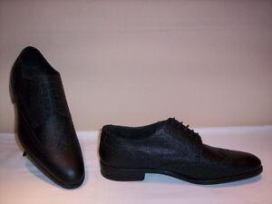 Dettagli su Bruno Magli scarpe classiche eleganti cerimonia uomo Made in Italy pelle neri