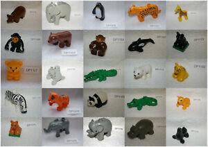 LEGO DUPLO Zoo Safari Tiere Wildtiere  AUSWAHL Set Kg Sammlung D3