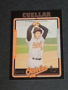 Mike Cuellar Baltimore Orioles 2005 Topps Black Retired #84 37/54
