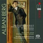 Alban Berg: Three Pieces for Orchestra, Op. 6; Three Fragments from Wozzeck Op. 7; Violin Concerto Super Audio Hybrid CD (CD, Oct-2015, MDG)