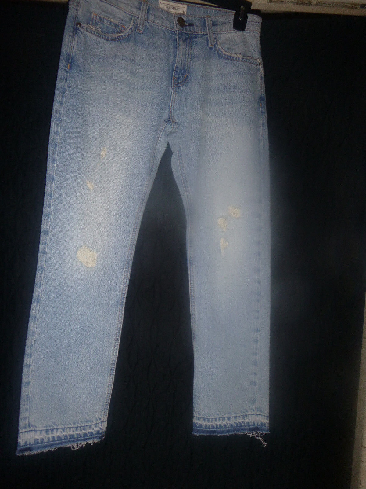 NEW CURRENT  ELLIOTT(THE  CROPPED STRAIGHT) JEANS  SIZE 28 NWT