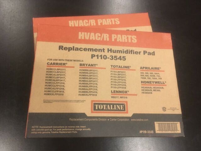 Totaline P110-4545 Humidifier Water Panel 2 Pack