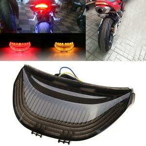 Smoke Integrated LED Taillight Light Turn Signals For 2003-2007 CBR 600 1000 RR