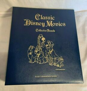 CLASSIC-DISNEY-MOVIES-Stamp-Collector-Panels-DUMBO-SNOW-WHITE-101-DALMATIONS
