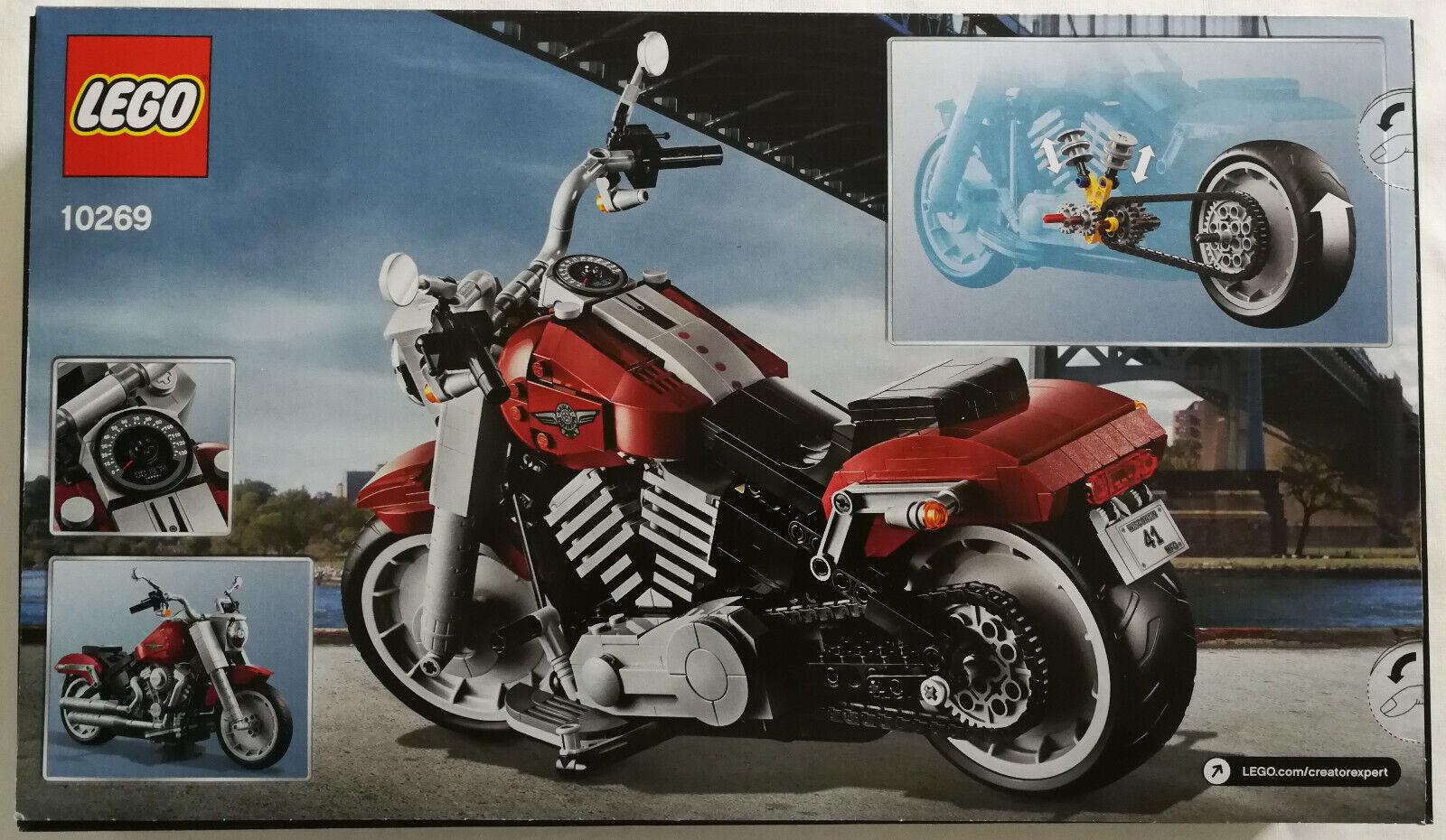 LEGO ® Creator Expert 10269 Harley-Davidson ® FAT BOY ®  NUOVO & OVP nuovo (MOTO)  ti aspetto