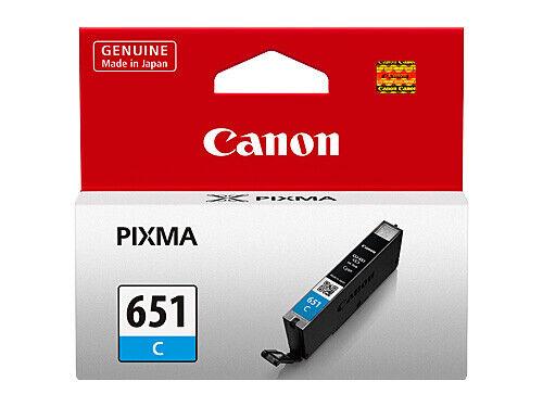 Canon CLI-651 Cyan Ink Cartridge CLI651C PIXMA MX726 MG6360 MG5460 IP7260 651 C
