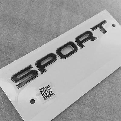Genuine OEM Range Rover Sport Tailgate Red Letter Badge Emblem *FREE SHIPPING*