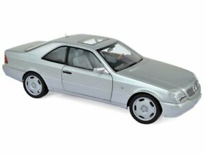 MB Mercedes Benz S Coupe - CL 600 - 1997 - silver - Norev 1:18