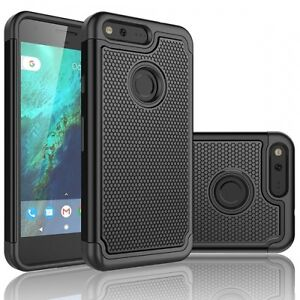 For Google PIXEL - DROP-PROOF HYBRID DUAL LAYER ARMOR DEFENDER RUGGED CASE COVER