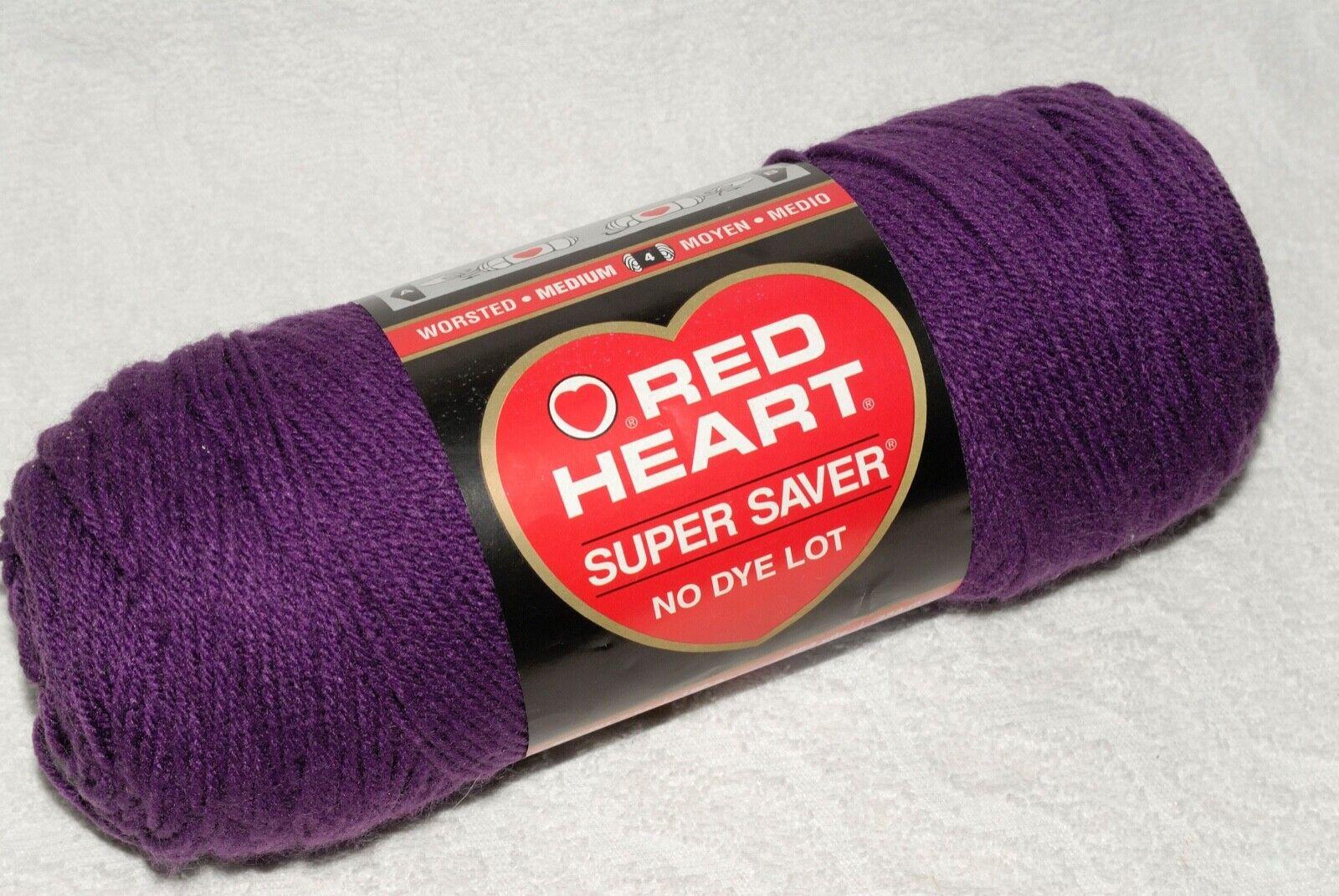 Red Heart 285412/Super Saver Yarn Dark Orchid