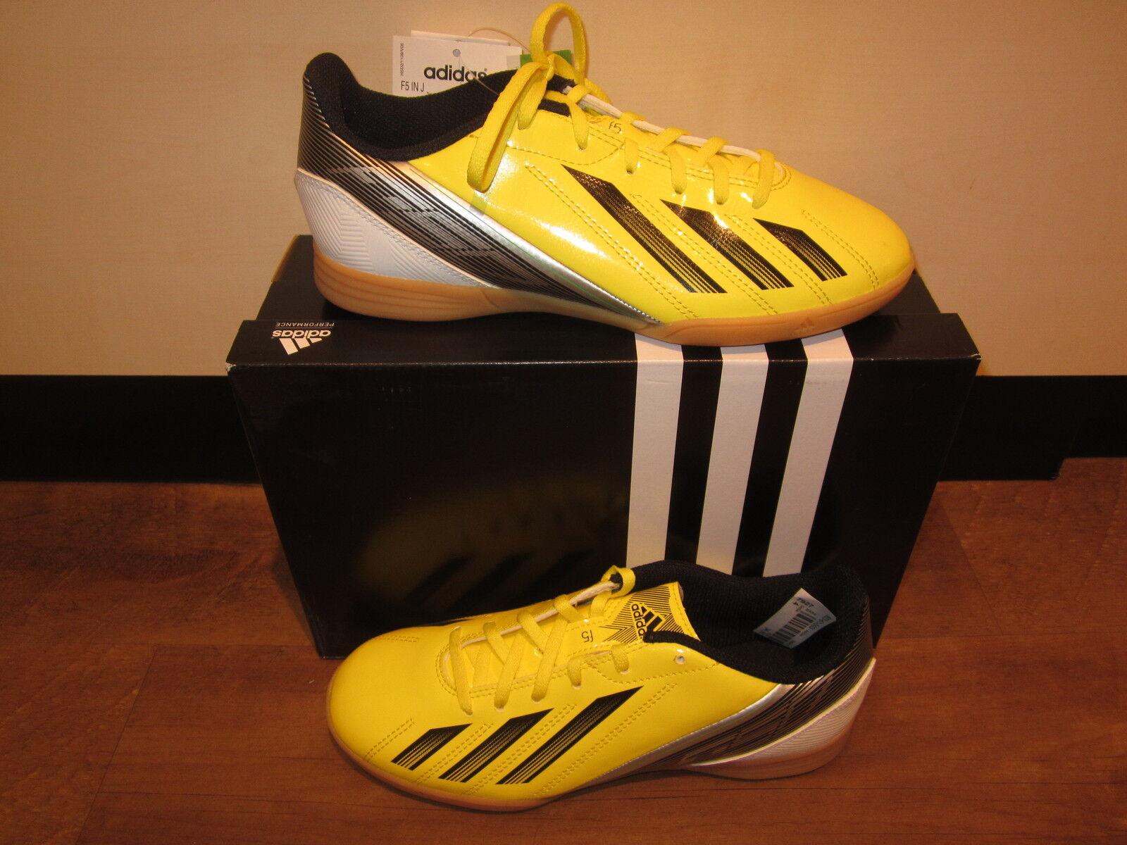 Adidas Calzado Deportivo  F5 In J  Amarillo Negro blancoo Nuevo