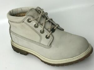 Nellie Chukka Beige Ankle Boots Size