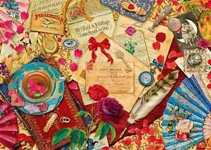 Schmidt-vintage-amore-lettere-puzzle-1000-pezzi