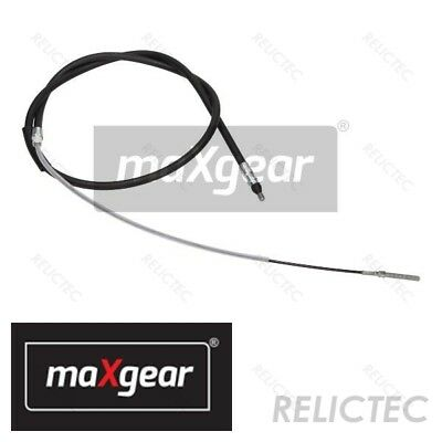 1x Fits BMW 3 Series E46 320 Ci Febi Rear Left Handbrake Parking Brake Cable