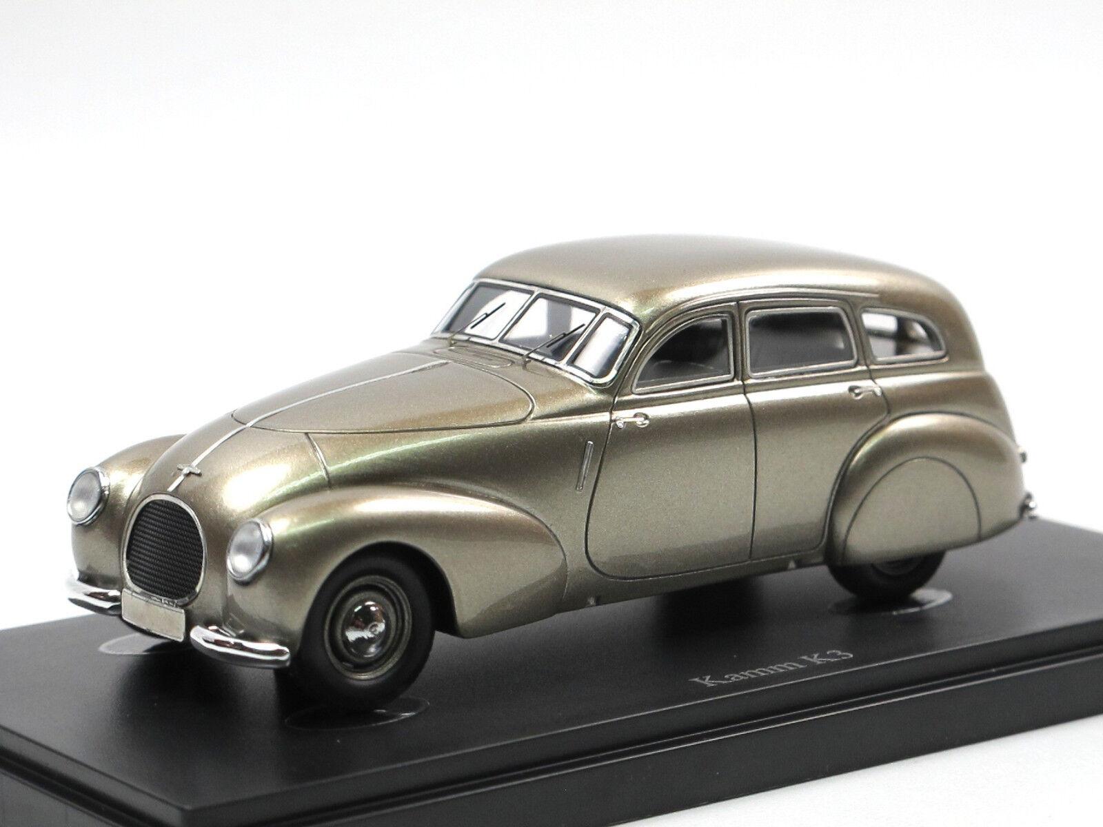 Autocult 04012 1939 Peigne k3 peigne-Voiture Chassis MERCEDES 170 V 1 43
