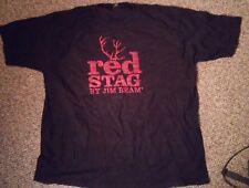 Jim Beam Red Stag Black Cherry Bourbon Bandana Black Red Lot of 8