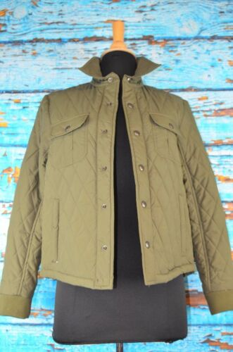 Sage leggeri Women's Vince Snaps Large Size Jacket Green Cropped xqtAqa