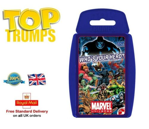 TOP TRUMPS MARVEL UNIVERSE Family Game Toy Gift Card Game Office Game Collection