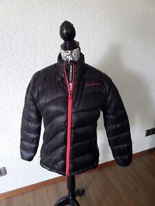Details zu SALOMON Daunenjacke,schwarz,Gr.M,Winter,Jacke,leicht und warm, Neuwertig !!! R80t6