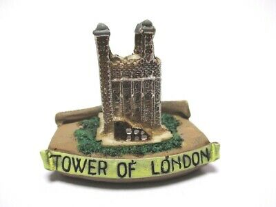 GroßZüGig London White Tower,5 Cm Poly Fertig Modell,england Gb Souvenir,neu