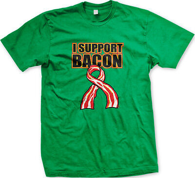 I Support Bacon Adult Hoodie #11733
