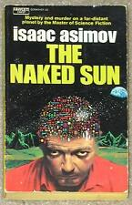 THE NAKED SUN ~ ISAAC ASIMOV ~ MYSTERY & MURDER ON A FAR-DISTANT PLANET ~ PB