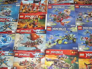 Lego-Gros-Lot-Vrac-1-kilo-Notice-Plan-Manuel-Ninjago-NEUF