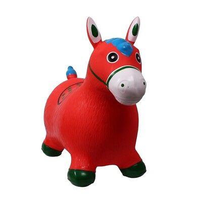 Hüpftier Hüpfpferd Sprungpferd Hopser Gummihüpfer Pferd oder Einhorn Farbauswahl