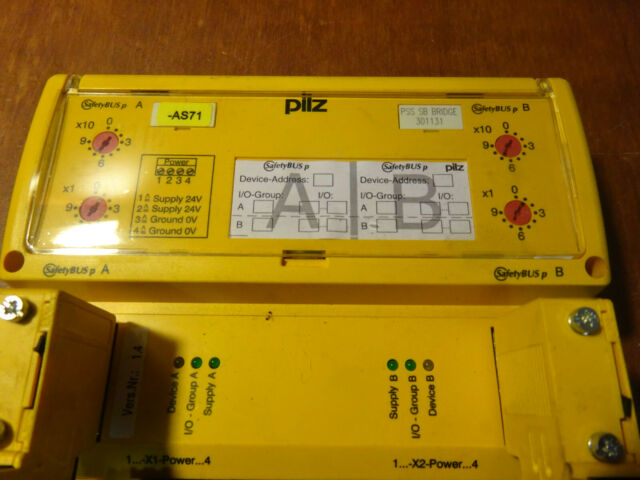 NEW #129759 PILZ 301131 INPUT//OUTPUT MODULE SAFTEY BUS