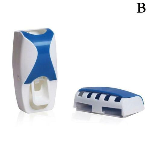 Bathroom Accessories Toothbrush Holder Automatic Toothpaste Dispenser 2019
