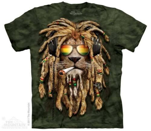 THE MOUNTAIN SMOKIN JAHMAN WEED 420 RASTAFARI RASTA DJ BLUNT T TEE SHIRT S-5XL