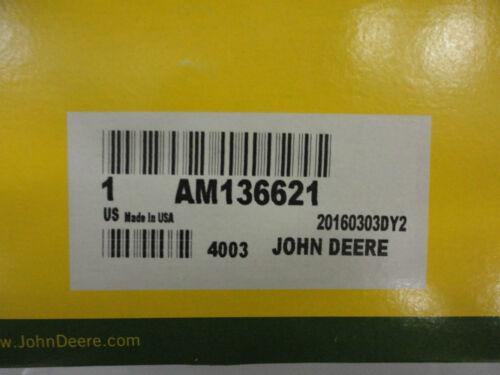 JOHN DEERE Tension Arm Sheave Pulley AM136621 48C 54C mower decks on X300 X500