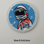 miniature 70 - Sew-Iron-On-Round-Patches-Popular-Badge-Transfer-Embroidered-Funny-Biker-Slogan