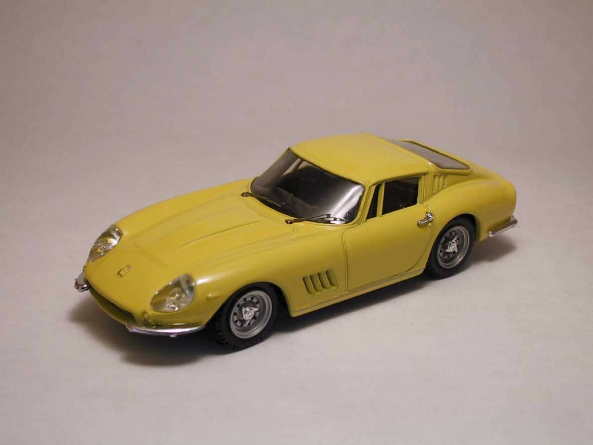 Ferrari 275 gtb 4 Coupe' 1966 jaune 1 43 model Beste models