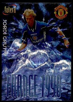FR98 4 Ole Gunnar Solskjaer No Futera Manchester United France 98