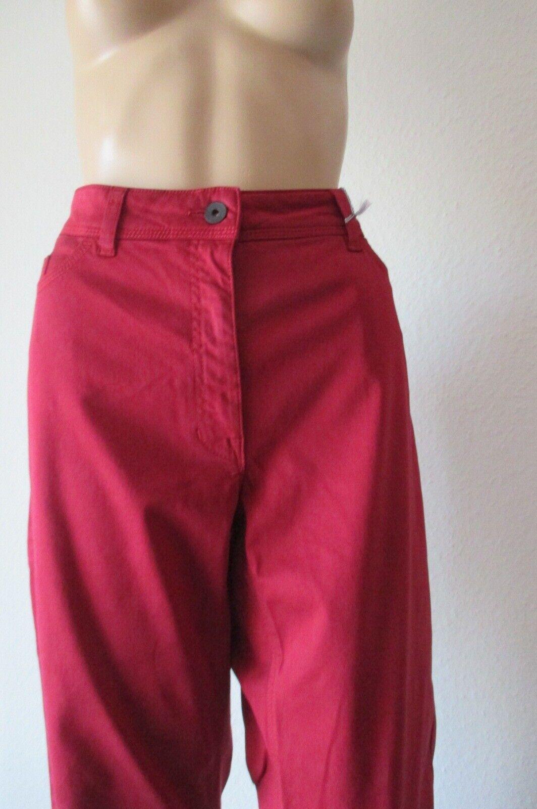 Ppep Jeans in red,  gerade geschnitten, Größe 44