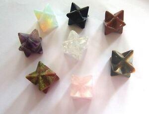 MERKABA-CRYSTAL-STAR-HEALING-REIKI-Amethyst-Rose-amp-Clear-Quartz-Adventurine