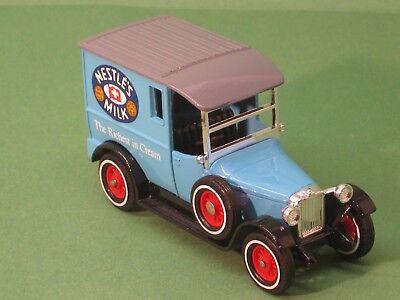 Dinamico Y-5 Talbot Van 1927 Nestle's Milk Matchbox Models Of Yesteryear Modello Veicolo-mostra Il Titolo Originale
