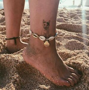 New-Women-Shell-Anklet-Ankle-Bracelet-Sandal-Foot-Chain-Barefoot-Beach-Jewelry