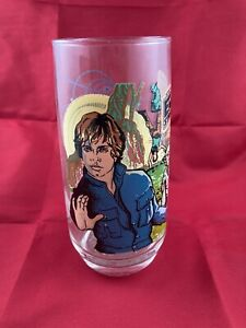 1980 Star Wars Empire Strikes Back Burger King Luke Skywalker Glass Cup VINTAGE