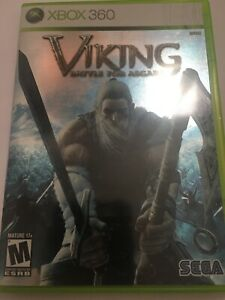 Microsoft-Xbox-360-Viking-Battle-for-Asgard-Complete-Clean-Tested-Works