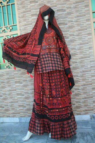 Afghan Bahu Handmade kuchi dress Banjara Nomad clo