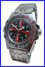 """RADIO ROOM"" AMPHIBIA 200m VOSTOK AUTOMATIC MECHANICAL WATCH !NEW! R Es"