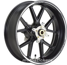 Adesivi ruote cerchi DUCATI 1198 1098  - Adesivi moto - Tuning - stickers wheels