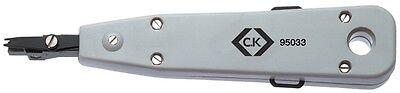 OfficiëLe Website Ck Tools 495033 Punch Down Tool For Data Wires - Cabling Computer Wire Tool Te Koop