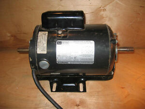 Craftsman belt drive table saw motor 1 hp 1 5 8 shaft for 1 hp table saw motor